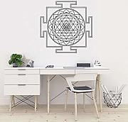 FXBSZ Mandala Wall Sticker Art Camera da letto