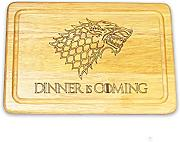 "Game of Thrones Inspired ""Dinner is"