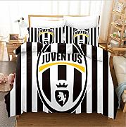 TRAPUNTA MATRIMONIALE JUVENTUS 260 X 270 MADE IN ITALY *01381