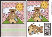 Giardino Bear 3 by Sharon Poore