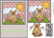 Giardino Bear 4 by Sharon Poore