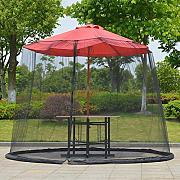 Copertura impermeabile per ombrellone impermeabile e resistente ai raggi UV 210D Oxford 190 x 50 x 30 cm per giardino esterno Nargut