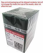 90//14 sistema aghi 134 // FFG // SES Industrie St 10 pezzi Groz-Beckert Pistone rotondo elasticizzato DPx5// 135x5 per macchina da cucire
