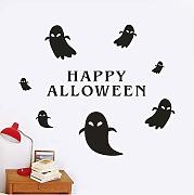 Guyuell Happy Halloween Wall Sticker Finestra
