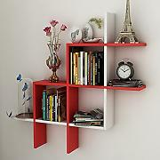 HAIZHEN Scaffali Creative Living Room Wall Shelf