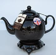 Hand made in marrone Rockingham 4 cup Brown Betty