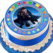 Harry Potter blu Happy Birthday Birthday
