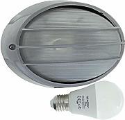 Navi 17 Paratia ovale lampada da parete allinterno o allesterno di luce impermeabile marino nautical lampada industriale