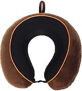 Hit Cuciture Colore Cuscino Di Gomma Piuma Di Memoria Con Paranuca Cuscino Del Collo A Forma Di U A Due,Brown-AllCode