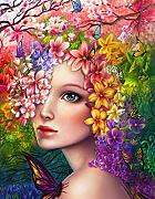 HNMFT DIY 5D Diamond Painting Kit Flower Fairy