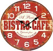 Home Decorazione Orologio Bistro Cafe,