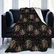 huatongxin Skull Feathers Traditional Coperta in
