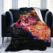 huatongxin Space Cat with Flying Code Coperta in