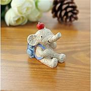 Huertuer Fata Garden Decor Resina Mini Animali