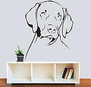 Hwhz 40 X 50 Cm Weimaraner Dog Wall Sticker