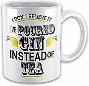 I Don't Believe It I've Poured 'Gin -