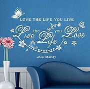 Inglese Proverbi Wall Sticker Stickers Home Decor