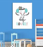Inspired Walls Elefante Baby Lovely Cute Animal