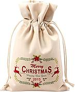 Itemer Christmas coulisse sacchetto regalo