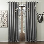 IYUEGOU Solid Faux Linen Classic Room Darkening