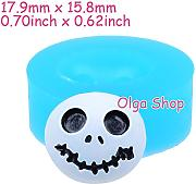 J103 Stampo Fimo Stampo silicone Halloween