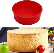 Jamicy 15,2 cm Round silicone cake Mold pan
