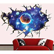 Jasonding 3D Rotto Wall Space Arge Wall Sticker