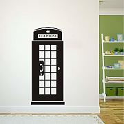 Jasonding Creative Home Decor Telefono Booth Wall