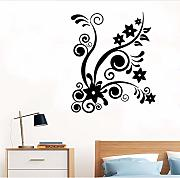 Jasonding Fiori Rimovibili Wall Sticker Home