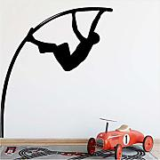 Jasonding Pole Vault Wall Stickers Moderna Moda
