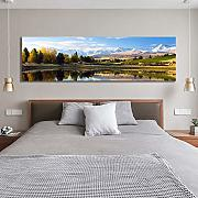 jiuyaomai Natura Canvas Wall Art Secret Lake