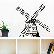 Jixiaosheng    Kids Creative Wind Mill Wall