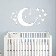 Jixiaosheng Moon And Stars Stickers Murali Nursery