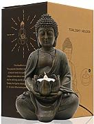 JJJJD Statua di Buddha Home Decor Resin Buddha