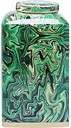 Kare 61758 Vaso Decorativo, Malachite, 15 x 15 x