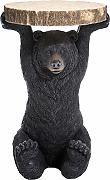 Kare Design, tavolino Animal Bear, Ø40cm,