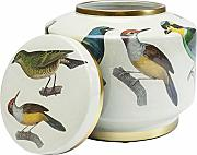 Kare - Vaso Decorativo Birds, 20 cm, Multicolore,