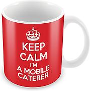 Keep Calm I' m A mobile buffet mug Coffee Cup Gift Idea lavoro