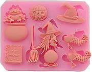 Kentop - Stampo in silicone 3D a tema Halloween,