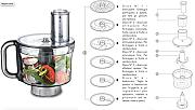Kenwood KMM760 - Food Processor, Robot da cucina