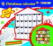 "Kit fai da te Playbox """"calendario di Natale"""", Bianco"