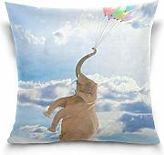 Klotr Federe Cuscino Divano, Elephant Flying with