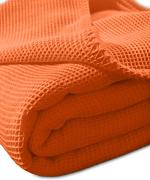 Kneer, Coperta in piquè, Arancione (Orange), 150