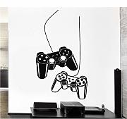 Koyiyo Wall Sticker Gamer Video Gioca Vinyl Decal