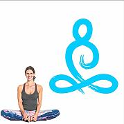 Koyiyo  Yoga Pose Wall Vinile Decal Yoga Wall
