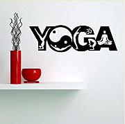 Kyzaaa  Home Decor Yoga Art Wall Sticker Testo