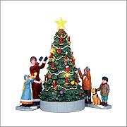 L'ALBERO DI NATALE - THE VILLAGE TREE SET OF 3