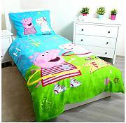 160 x 200 70 x 80 cm Biancheria da Letto Colore: Rosa TipTrade Peppa Pig pp187002