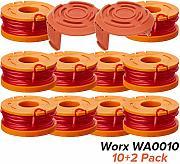 1 PZ Compatibile con Worx GT WA0010 WG180 WG163 WG175 WG155 WG160 Trimmers Elettrico Bobina di Ricambio per tagliabordi