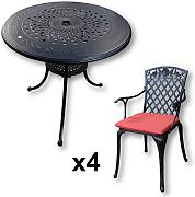 Lazy Susan Furniture, set da giardino Anna,